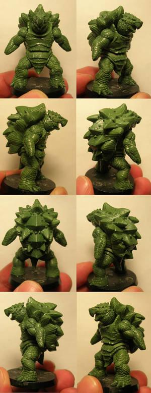 Turtle-man - WIP 2