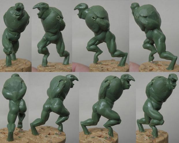 Big Trollkin - Progress 1 by Serg-Natos