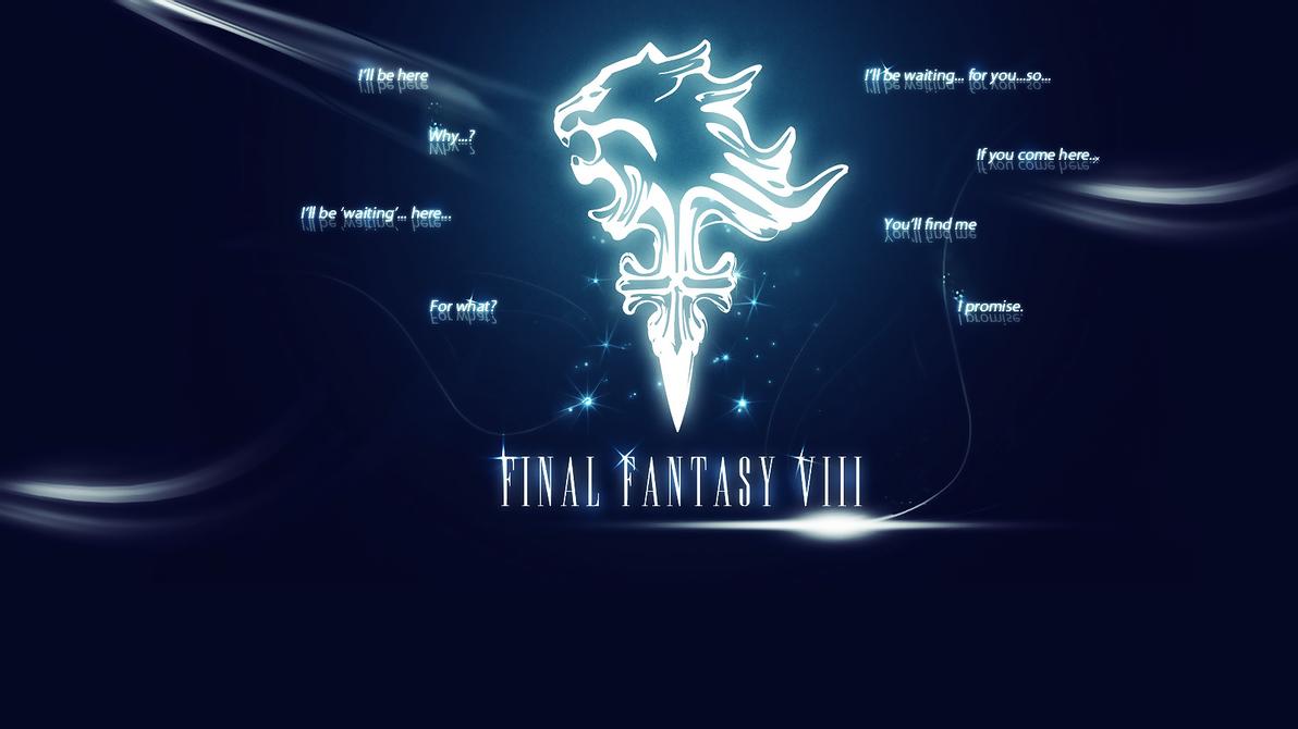 wallpaper final fantasy viii by arcaste on deviantart