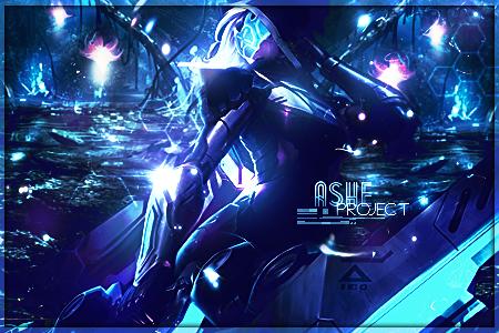 project ashe league of legends by arcaste on deviantart