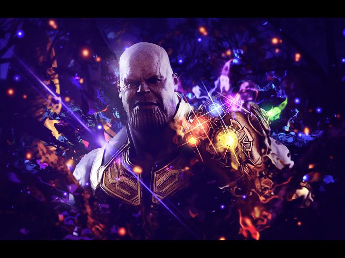 Thanos - Avengers signature by Arcaste