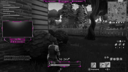 IN GAME OVERLAY - PINK AND BLACK by Arcaste