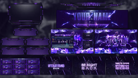 New Animated Stream Pack by Arcaste