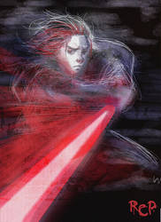 SKRATCH- Anakin Skywalker by Robaato