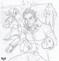 Batsu: BRING US BACK, CAPCOMMM by Robaato