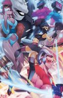 Triple Platinum Samurai by Robaato