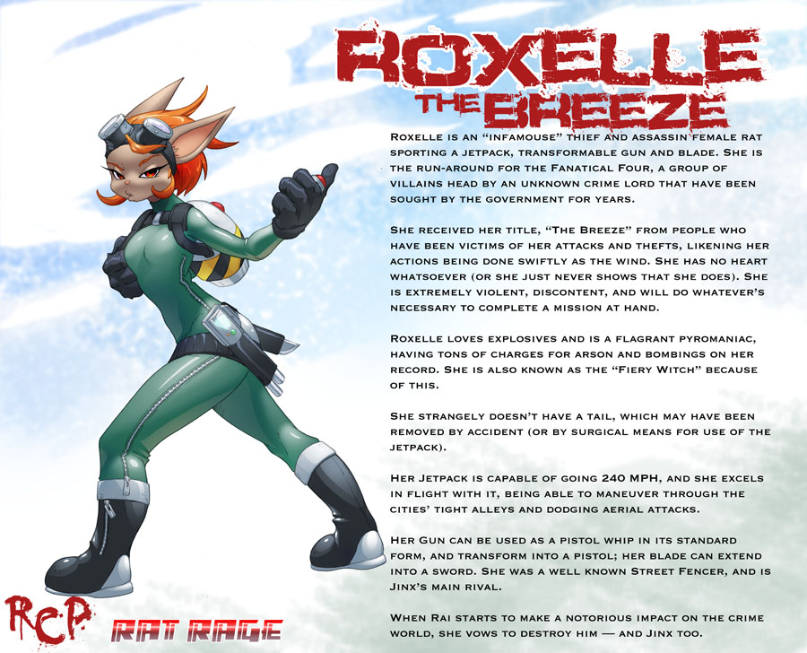 Roxelle The Breeze by Robaato