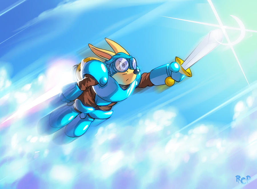 The Rocket Knight by Robaato