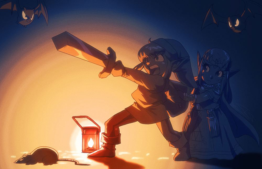 There's a Shortcut in the Sewers by Robaato