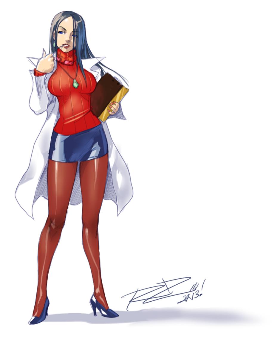 Kyoko-Sketch-3-7-2013 by Robaato