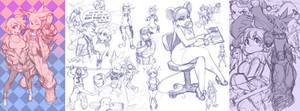 Ratty Sketch Compilation