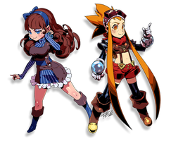 ETRIAN ODYSSEY STYLE Esmy and Bliss by Robaato