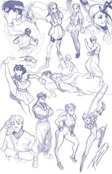 Street Fighter Medley 14-1-16