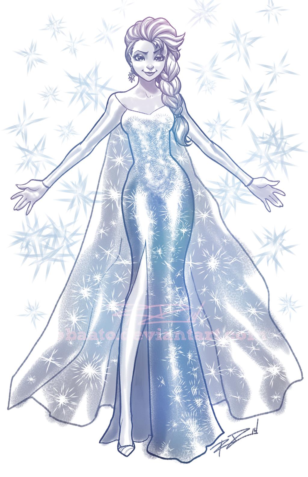 Elsa 14-1-21 by Robaato