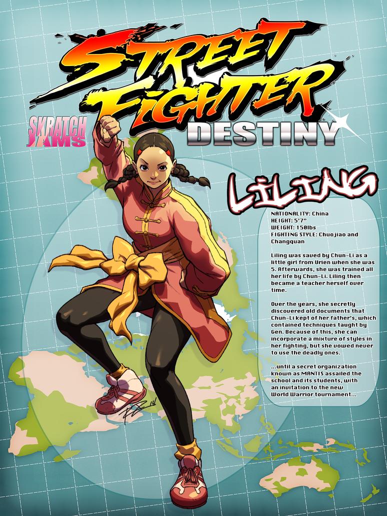 Street Fighter: DESTINY Jam - Liling by Robaato on DeviantArt