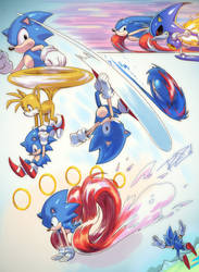 Classic Sonic Dump 14-4-23 by Robaato