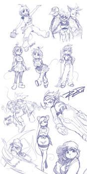 Another Rat Rage Sketchdump