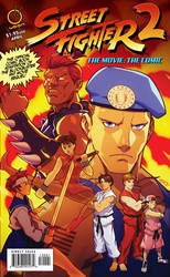 Street Fighter The Movie 2: The Comic Cover A