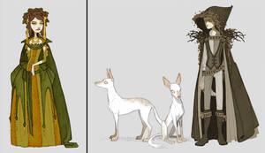 Queen, Hunter, Locked Maze 3