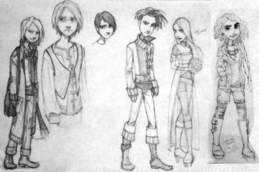 2010 New Comic Book Characters by mleiv