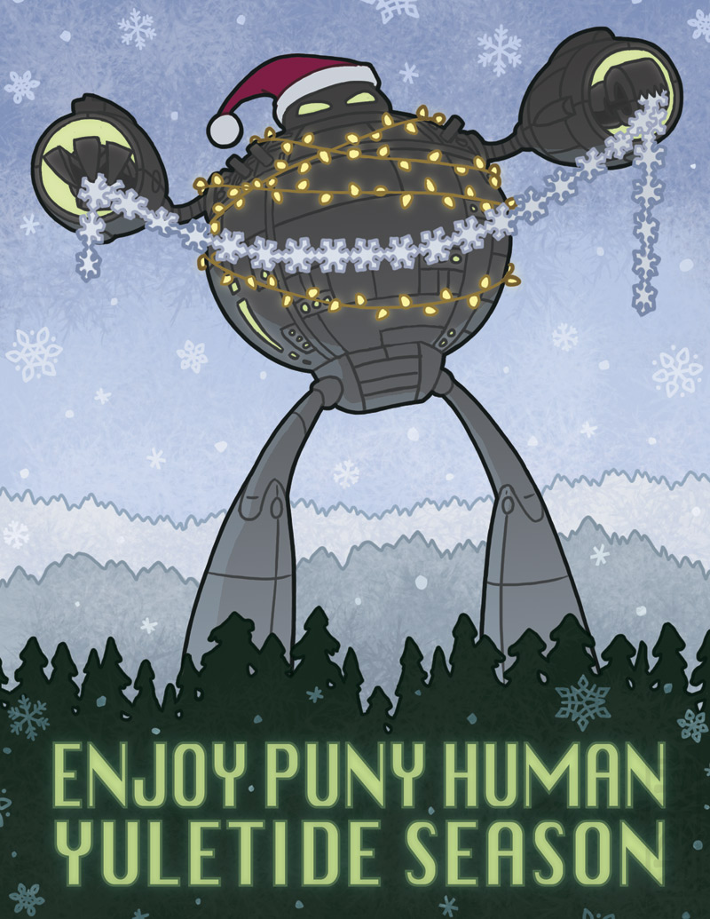 Holiday Card 2011 by mleiv