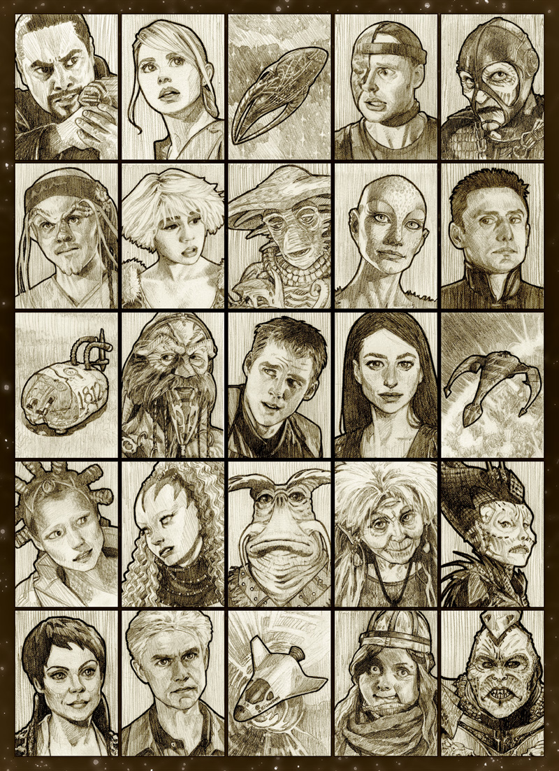 Farscape Finished Fanart by mleiv