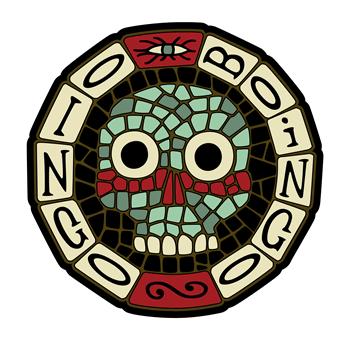 Oingo Boingo Mosaic Skull by mleiv