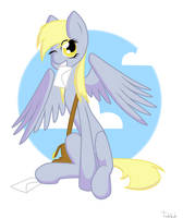 Derpy Hooves to your order! by TraLaLayla