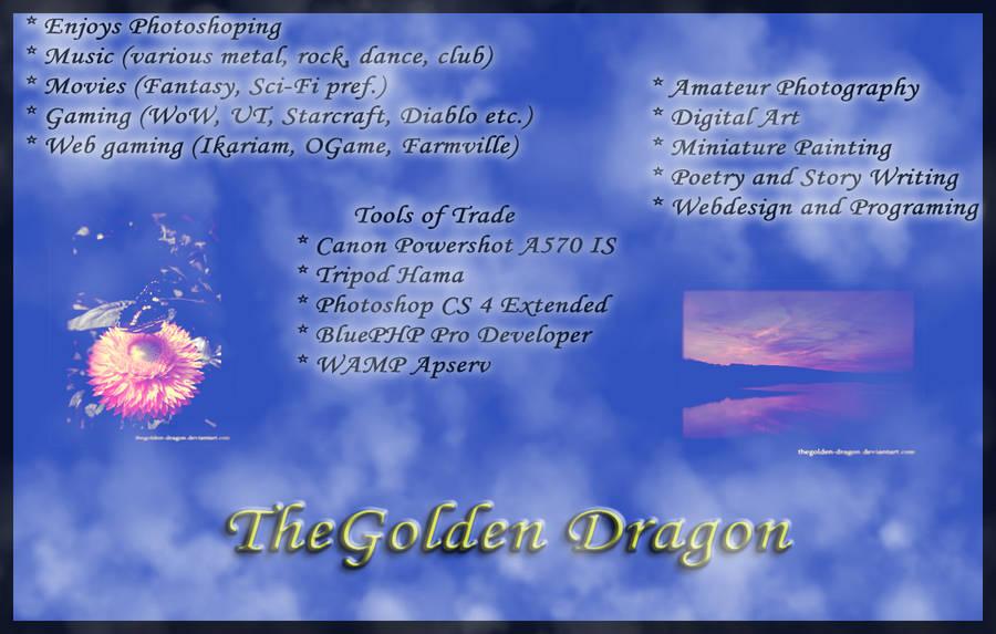 TheGolden-Dragon's Profile Picture