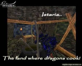 Istaria - Dragon Chef by TheGolden-Dragon