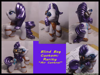 Rarity, Air control lady by TheGolden-Dragon