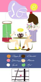 Icecream shopp poster