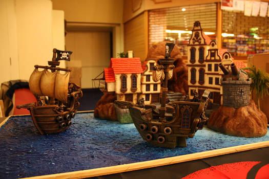 Pirate Ship Display