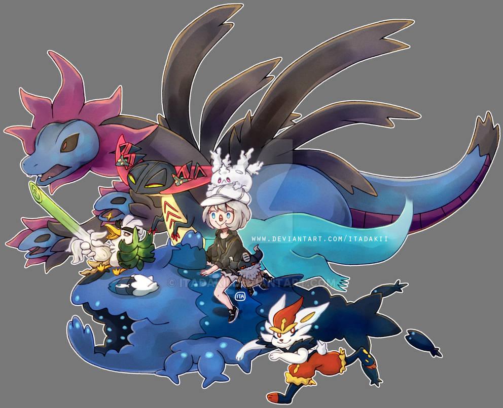 Pokemon Sword Team