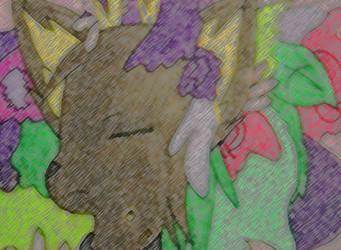 - Floral Slumber - by CuriousStraydog