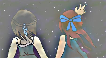 :Reach for the Stars: For xBlue-Rose by CuriousStraydog