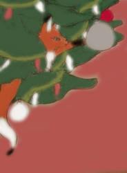 Christmas Edea by CuriousStraydog