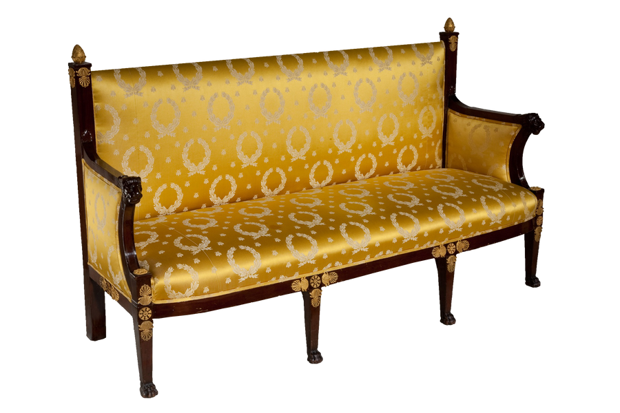 antique sofa png by camelfobia