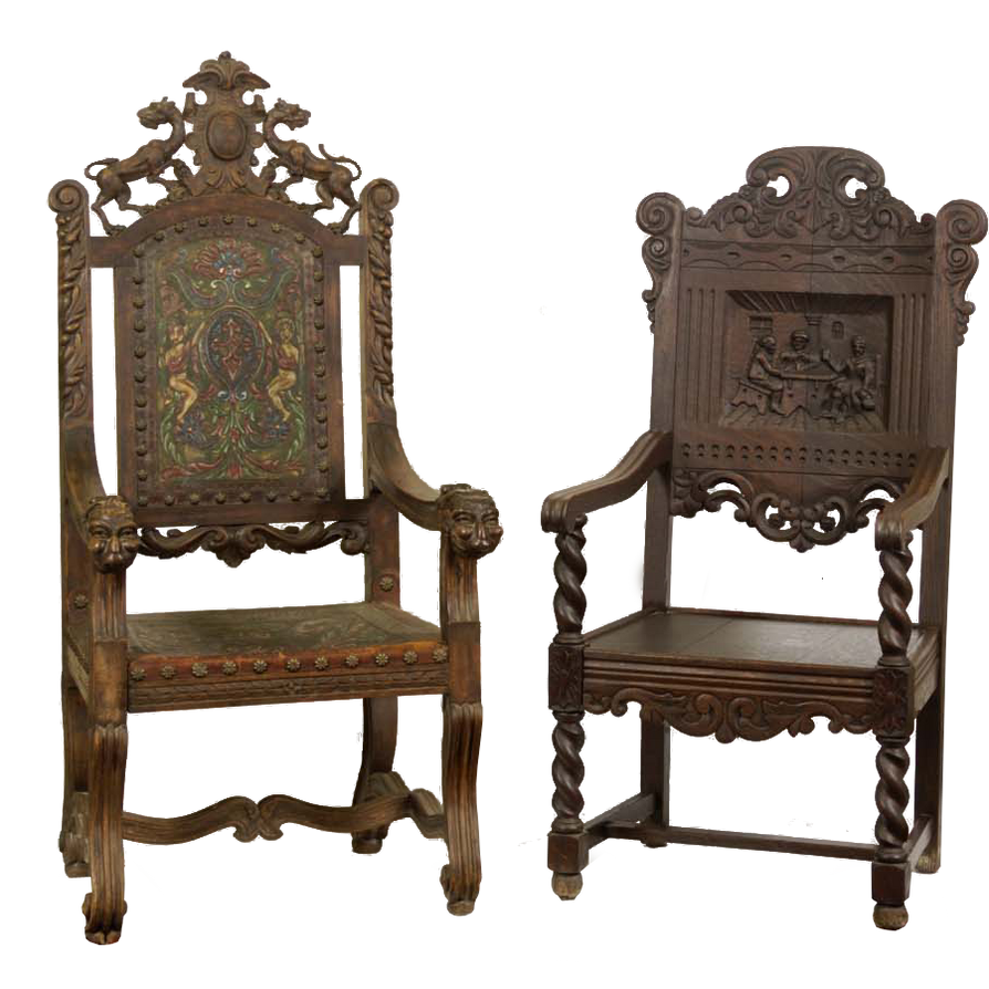 Antique chairs png by camelfobia on deviantart for Antique looking chairs