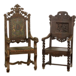 antique chairs png