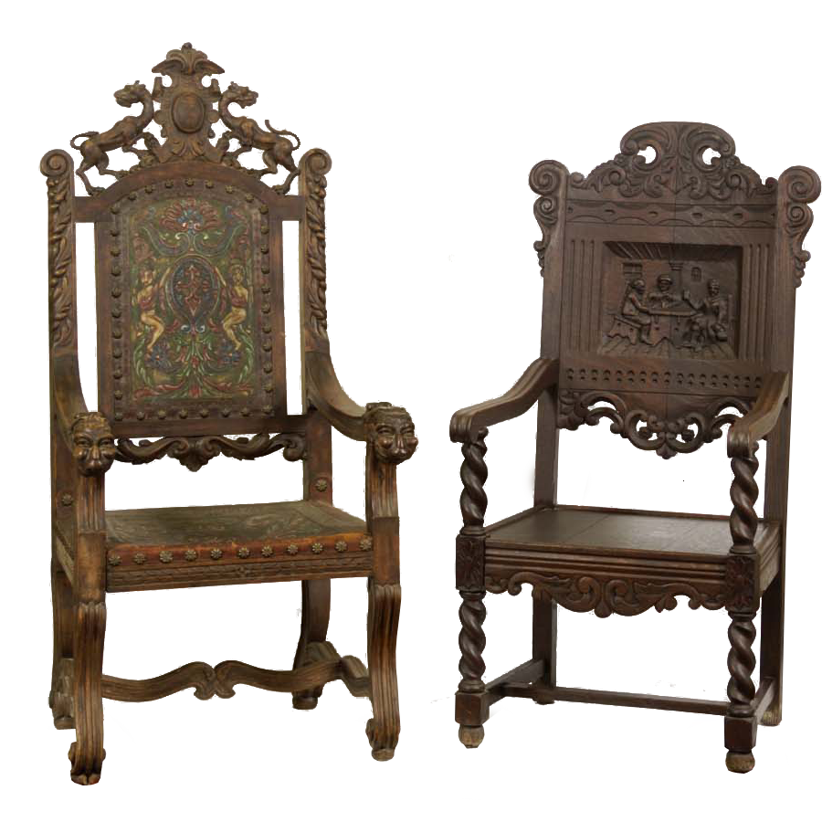 antique chairs png by camelfobia