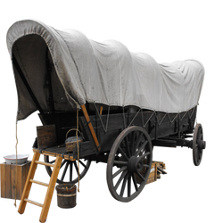 covered wagon png by camelfobia