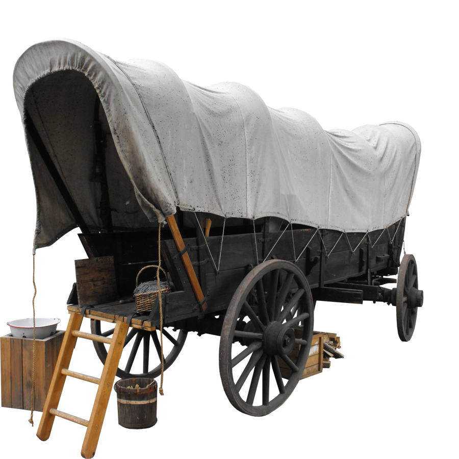 covered wagon png