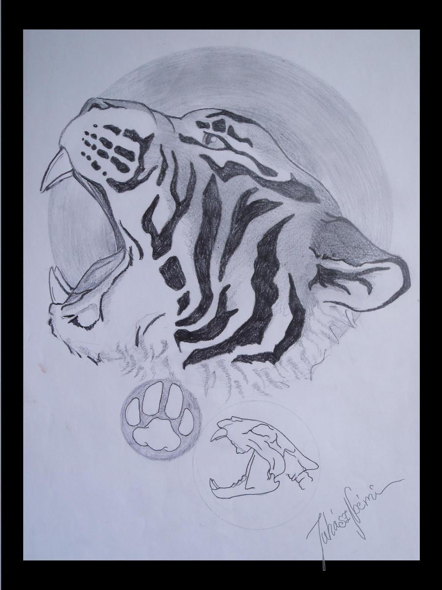 D D   Tiger Skull Club Build