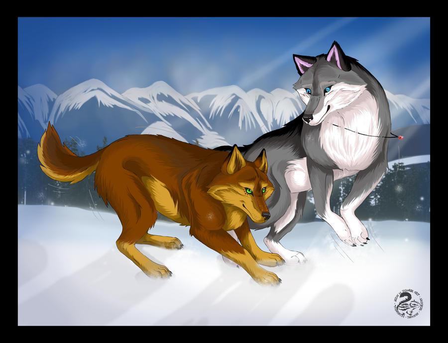 Commission for Metalwolf13 by Nojjesz