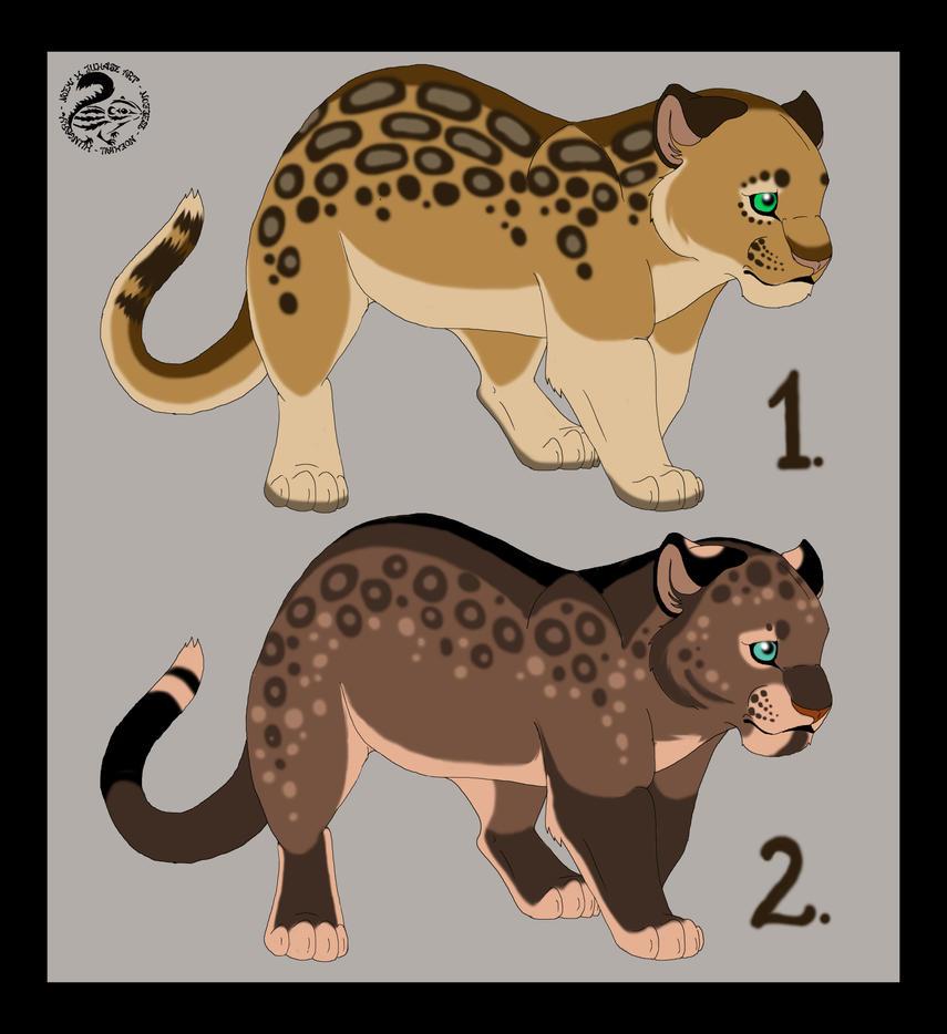 Jaguar Cubs - Closed by Nojjesz