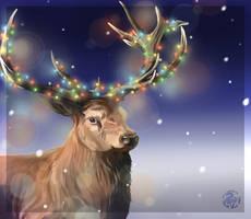 Ohhh Deer, It's Christmas!!! by Nojjesz