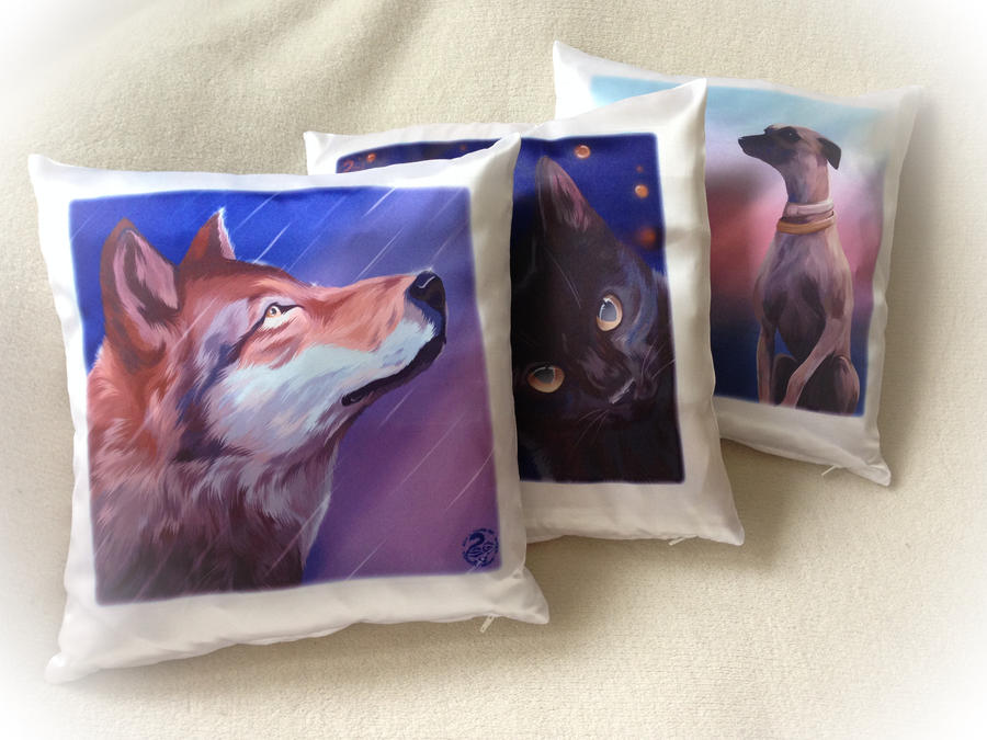 Cushions - Pillow Cases by Nojjesz