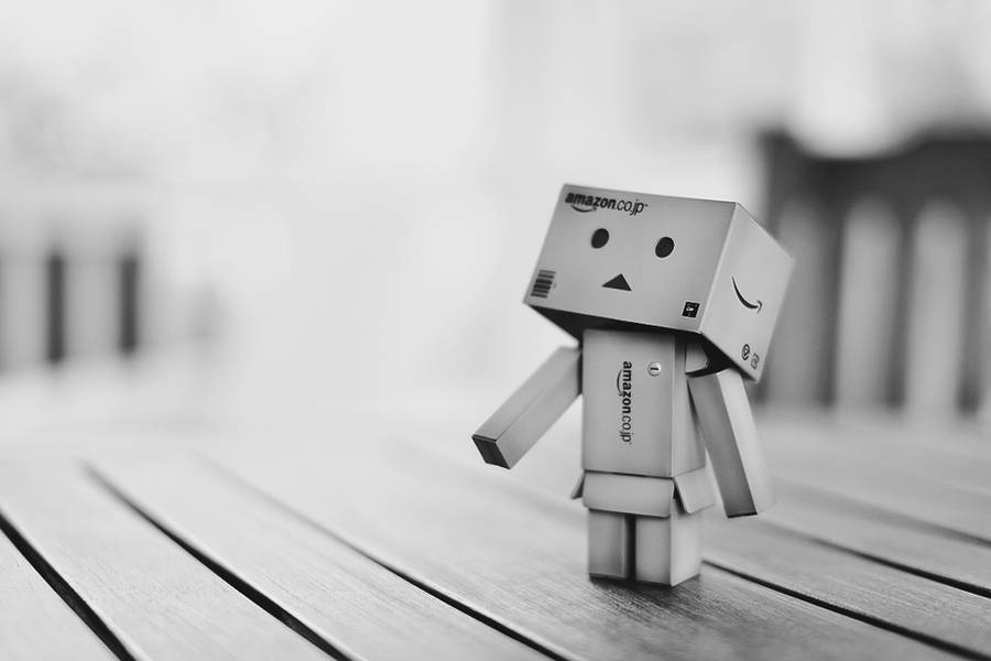 Wallpaper Danbo 2 by TheEdux98
