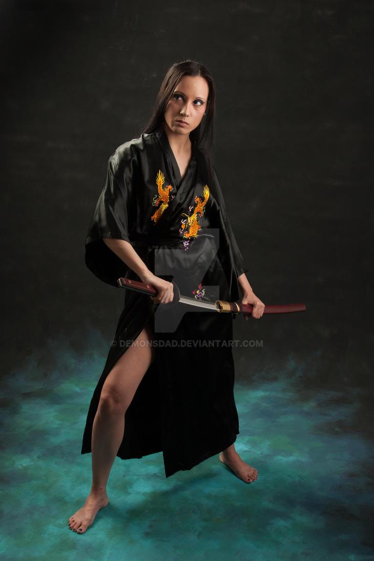 Samuri Lady by demonsDad